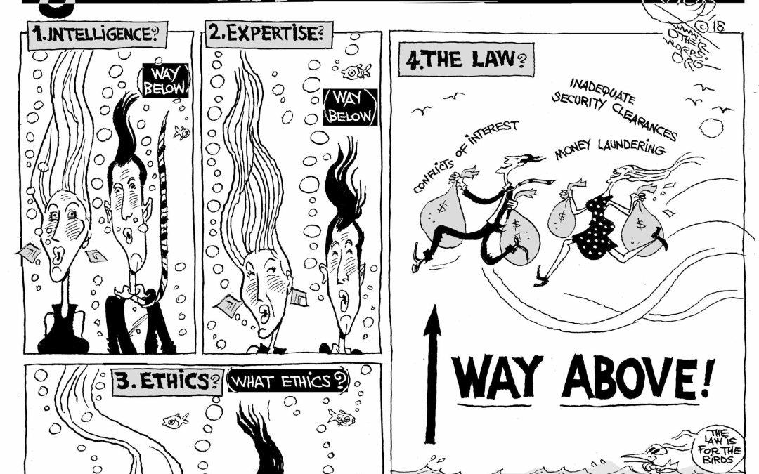 Below Par, Above the Law