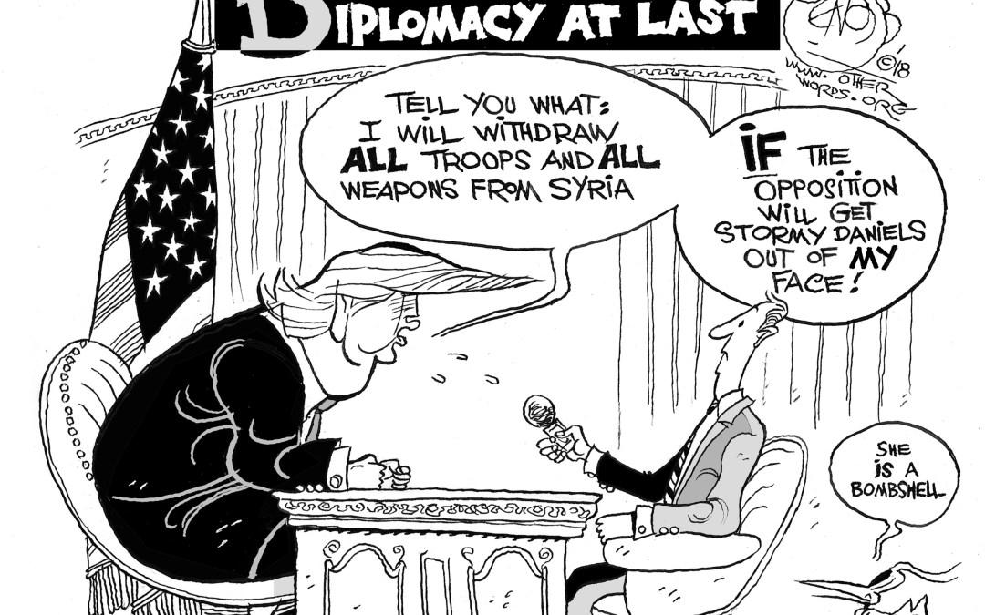 Diplomacy at Last