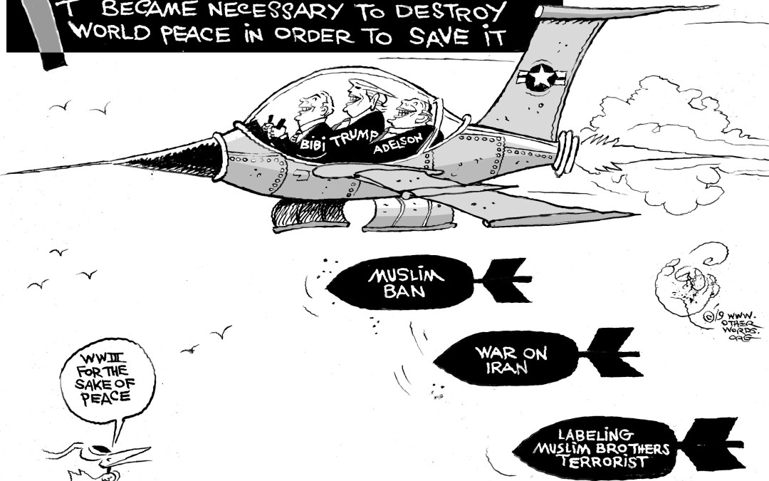 Dropping Bombs for Peace