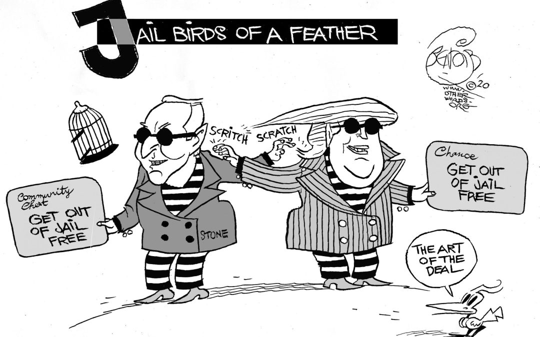 Jail Birds of a Feather