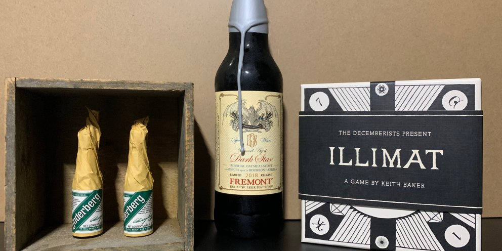 Illimat & Dark Star Oatmeal Stout: Myths Made into Realities