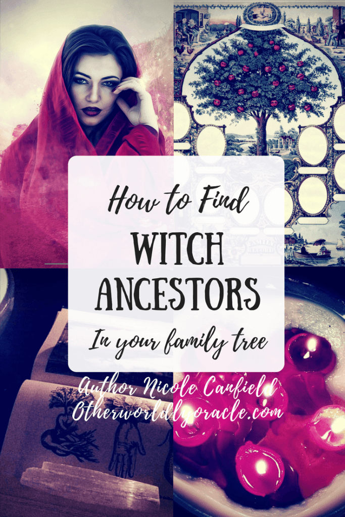 Your family tree could contain witches' names!