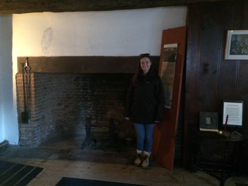 Many household spirits lived in the chimney or hearth.