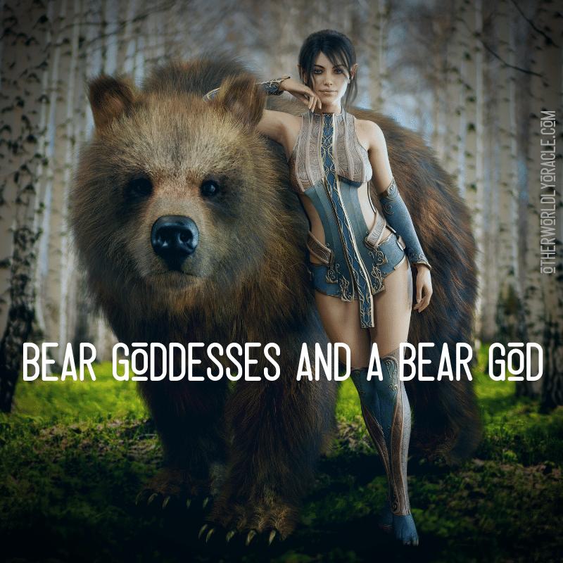 Ancient Bear Goddess and a Bear God