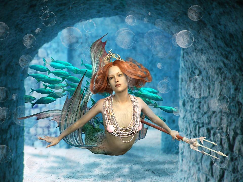 Mermaids near Greece were Sirens.