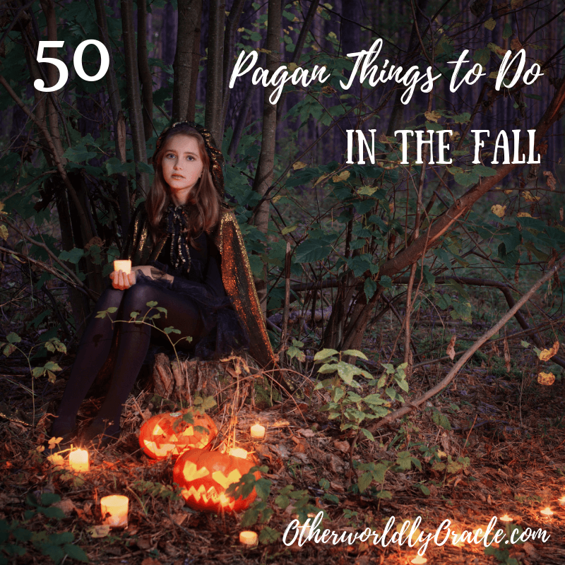 Pagan and Witchy Things to do in Fall
