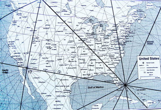 Ley Lines in the U.S. How to find local ley lines