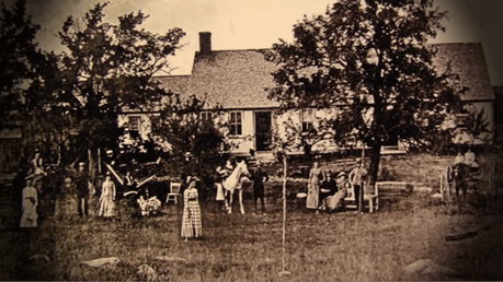 Old Photo of Bathsheba Sherman's Real Witches House