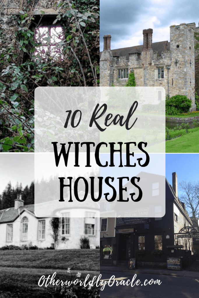 Boleskine Manor, the Bathsheba Sherman Home, and more Real Witches Houses