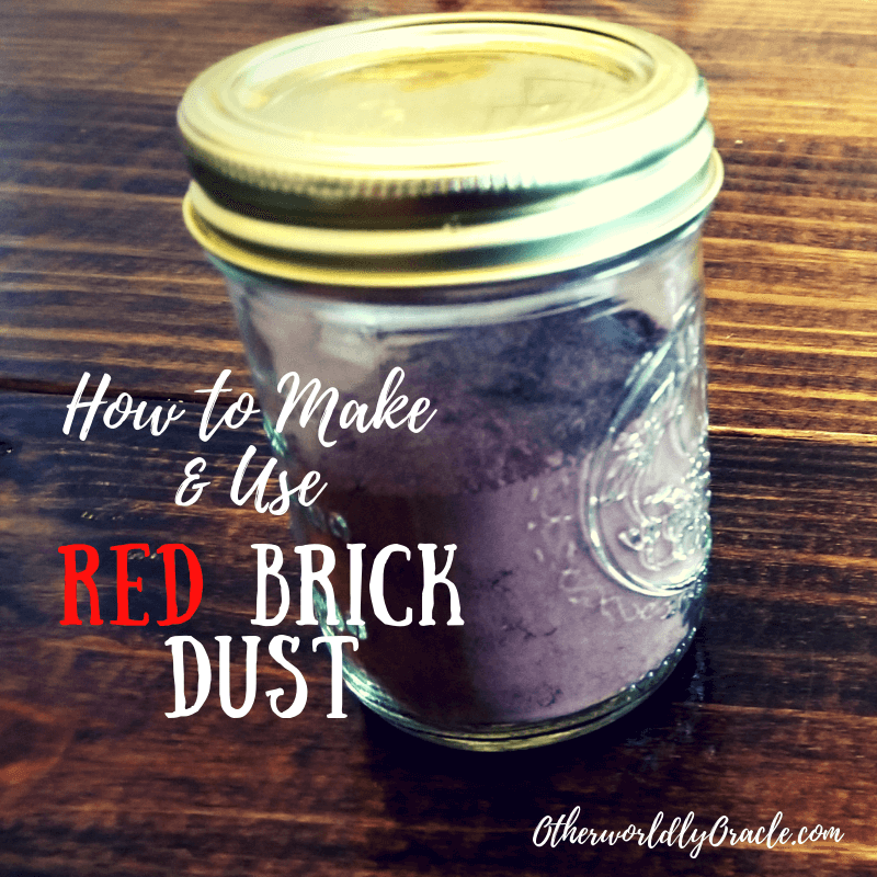 How to Make & Use Red Brick Dust