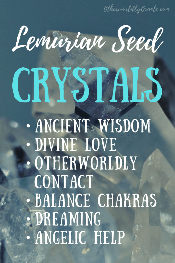 Lemurian seed crystals, aka Starseed Lemurian quartz, are special crystals with divine magical properties detailed here.