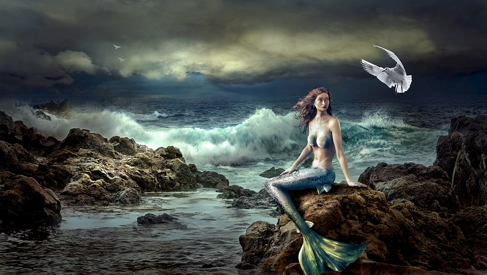 The merrow was the Irish mermaid.