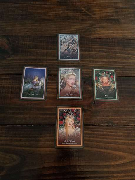 Best Oracle Decks for Green Witches include this deck - the Faery Forest.