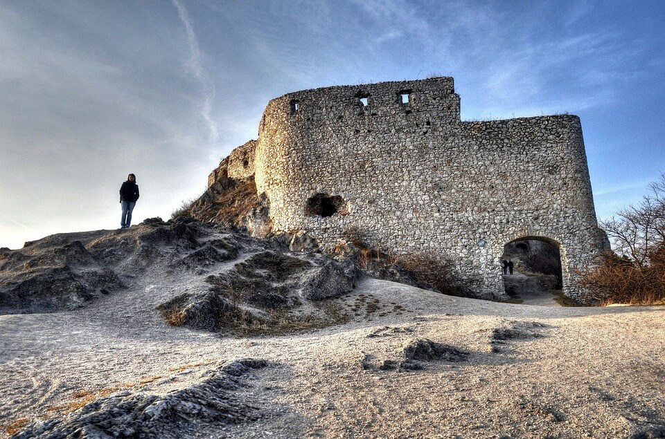 Cachtice Castle: where Countess Bathory reigned and killed dozens of women.