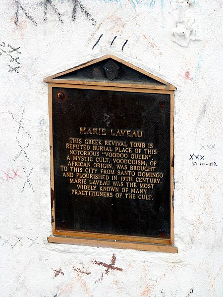 Voodoo spirits like Marie Laveau are widely venerated in New Orleans.
