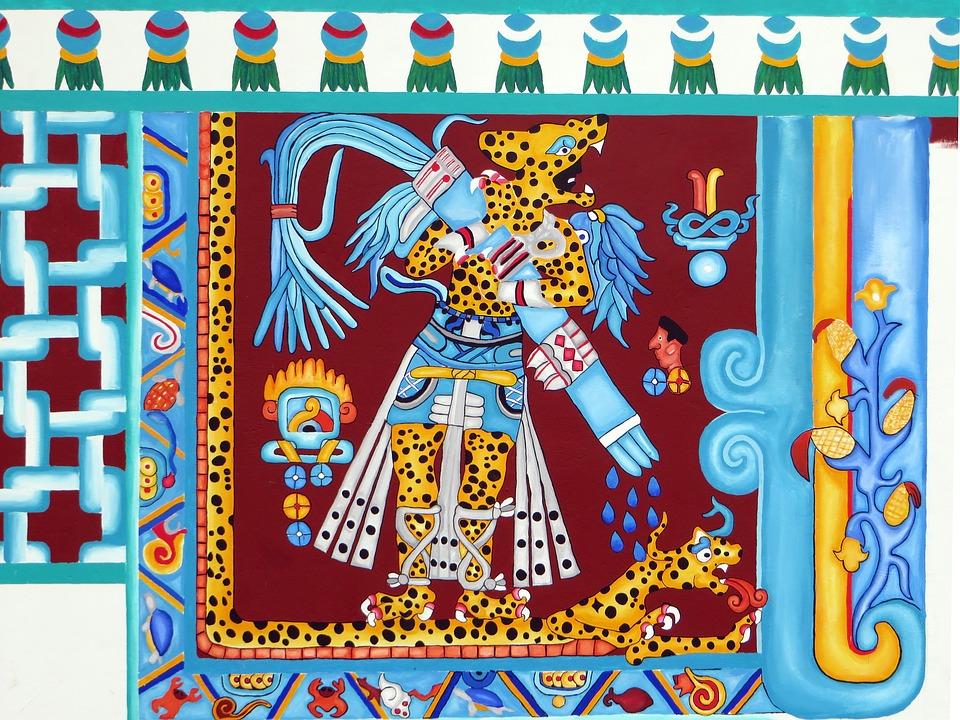 Tlaloc, Aztec God of Rain