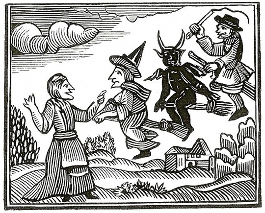 Witches in history were accused of partnering with the devil and murdering innocent people with curses.