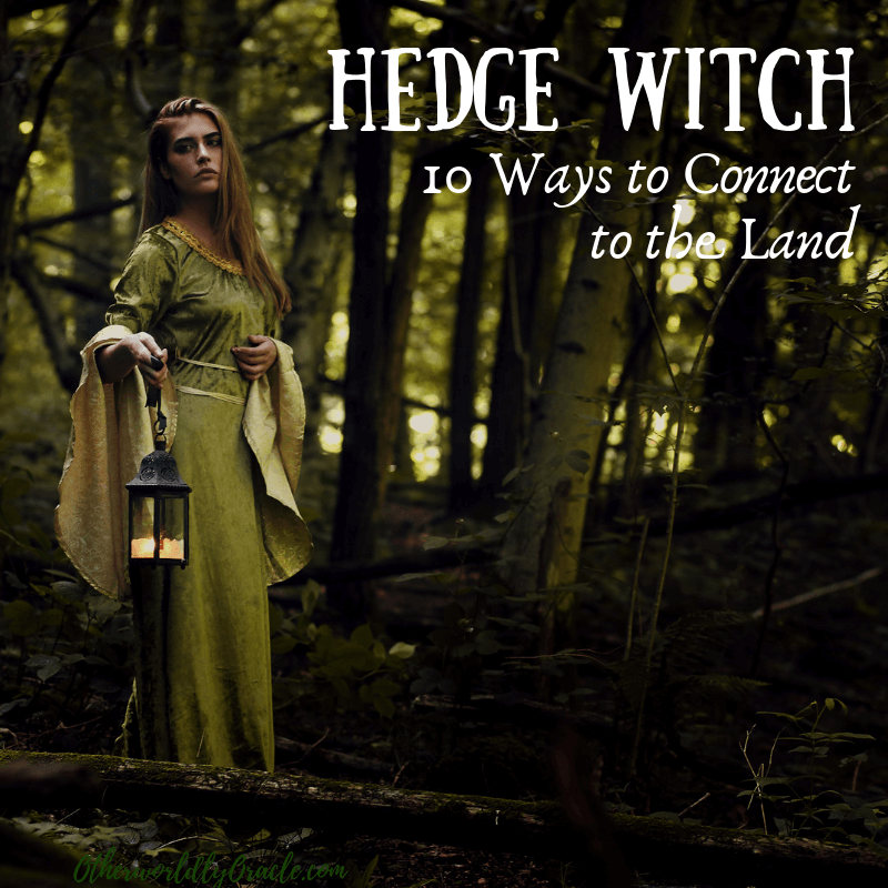 Hedge & Green Witch: 10 Ways to Connect to the Land Where YOU Live