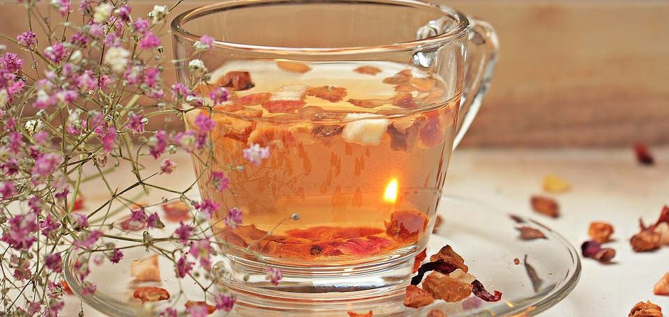 A healthy witch replaces sweets and junk food as snacks with fruit or herbal tea with honey.