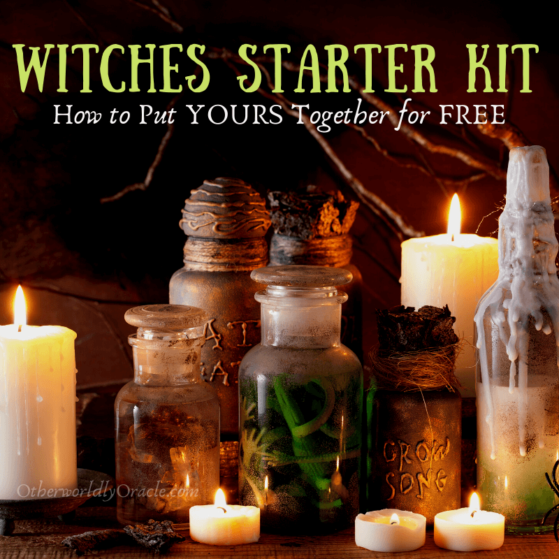 DIY Witches Starter Kit for New Witches Using Things On-Hand and Cheap!