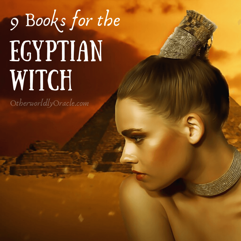 9 Books for the Egyptian Witch!