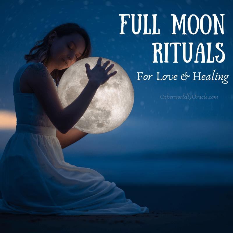 Full Moon Ritual Ideas for Healing & Love + Full Moon Ritual Herbs