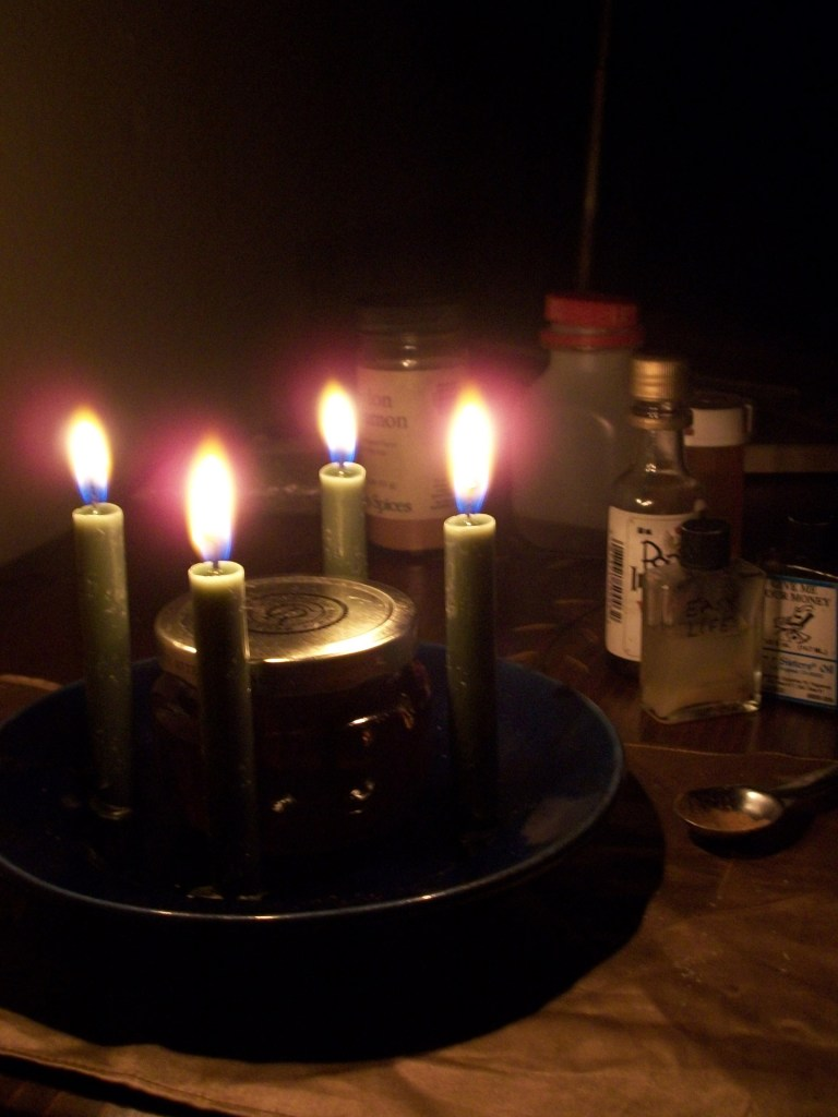 Witch bottles can be heated up with fire and sealed.