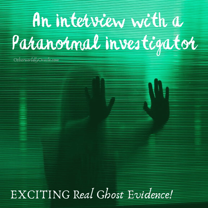 MARYLAND Paranormal Investigations: An Exciting Interview!