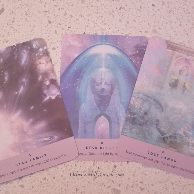 The Starseed Oracle Deck Review
