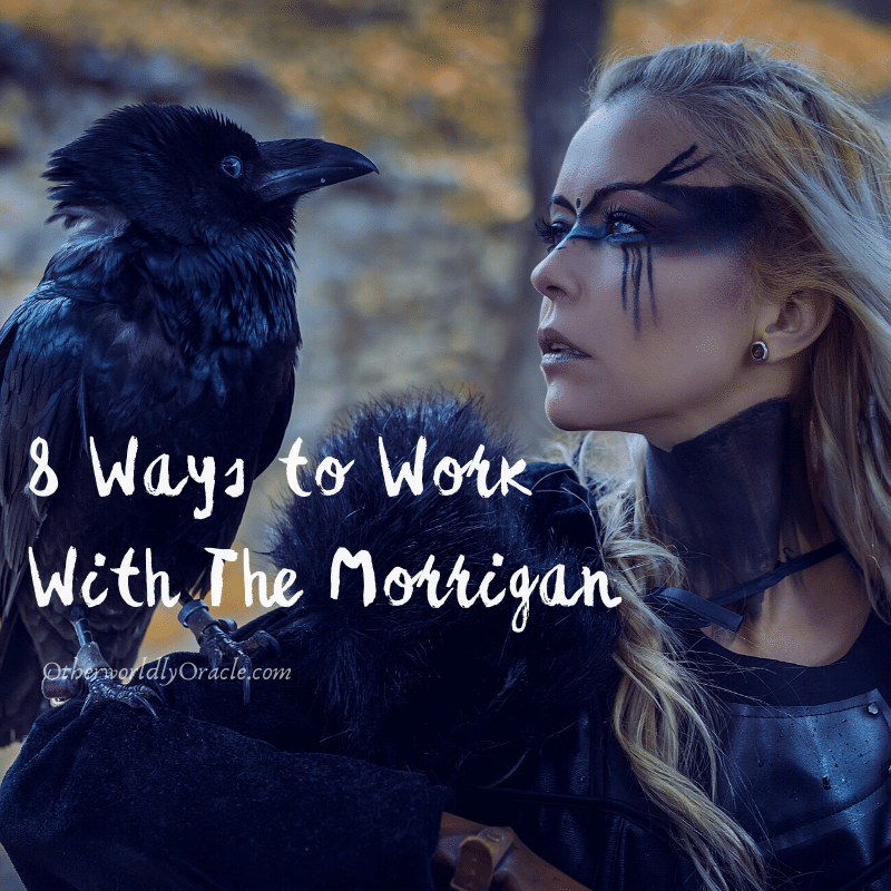 Celtic Goddess of War: 8 Ways to Work With The Morrigan