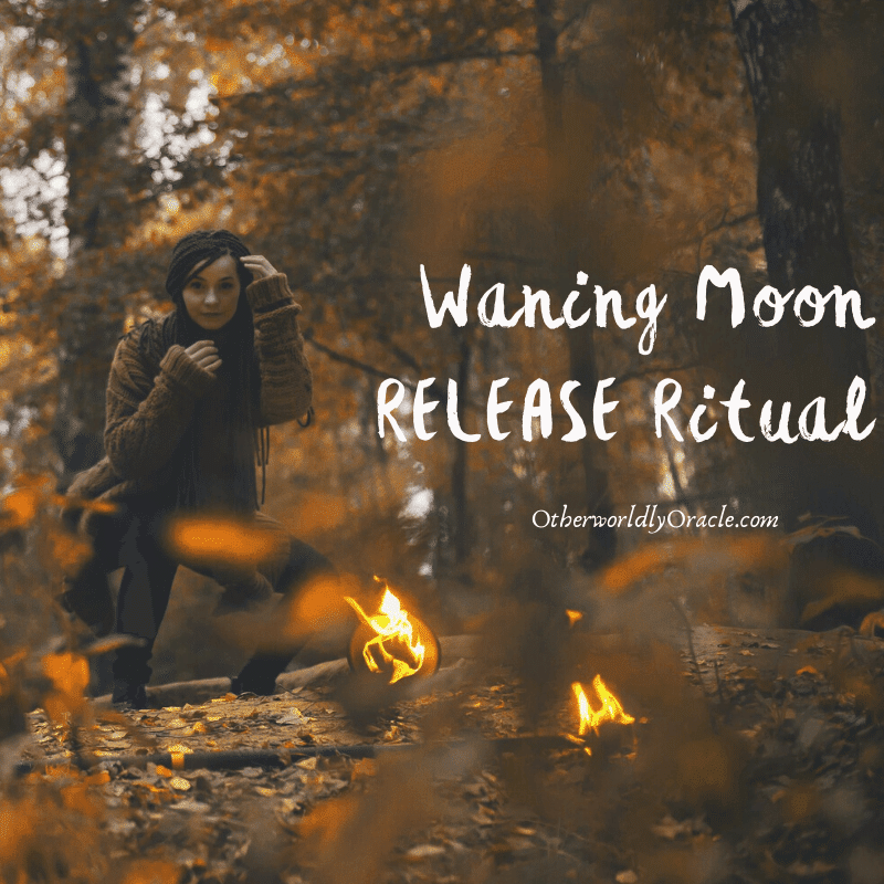 Waning Moon Release Ritual: By Fire And Ash