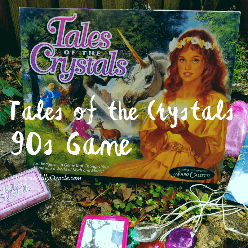 Tales of the Crystals 90s Vintage Game & How to Recreate It!