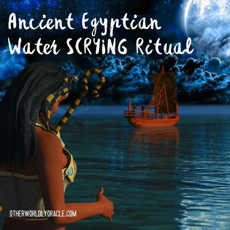 Water Scrying Ritual: Ancient Egyptian Magic