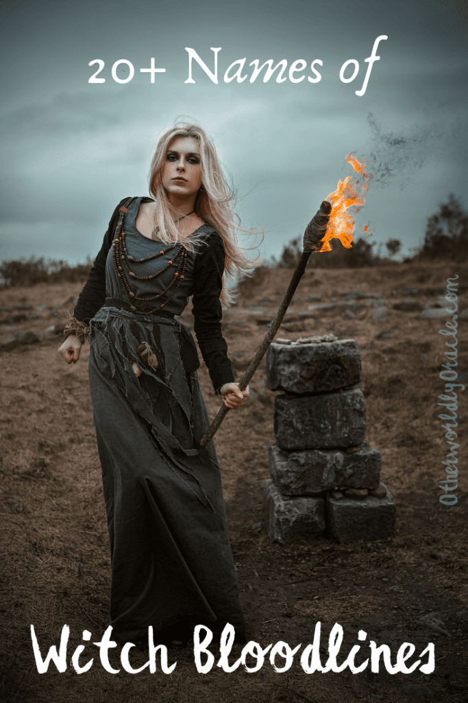 Salem Witch Bloodlines, Also German, Italian, Scottish and More
