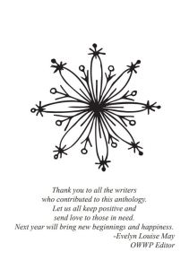 Thank you: Other Worldly Women Press 2020 Winter Anthology: Healing Felines and Femmes