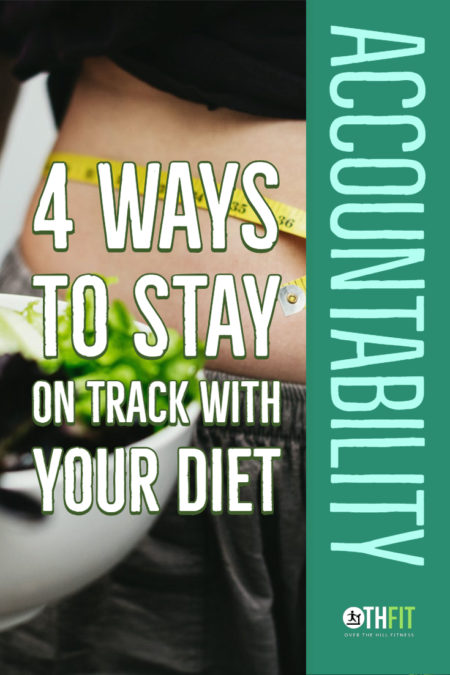 Starting a diet is easy but staying on a diet is very difficult. Improve your odds of sticking with your diet with these 4 simple tips. #diet #weightloss