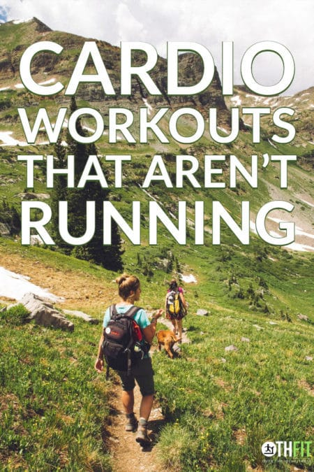 I love to pretend that someday I'll become a runner but so far that hasn't happened. Until then I need to find good cardio workouts that aren't running so I can stay in shape.  Here are my favorites. #running #cardio