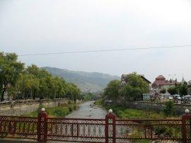 ...in der halbwegs sehenswerten Stadt Vatra Dornei.