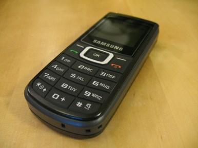Samsung GT-E 1107 Solarhandy - MG_9190