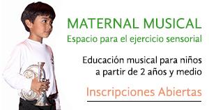 Maternal musical home widget