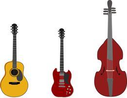 Información sobre los instrumentos de la familia de las cuerdas