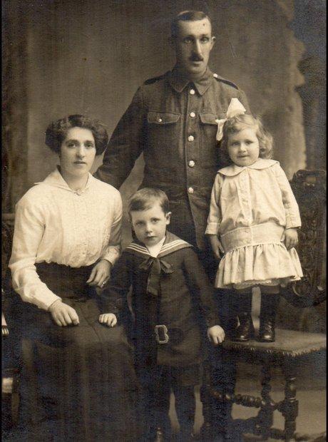 soldado familia