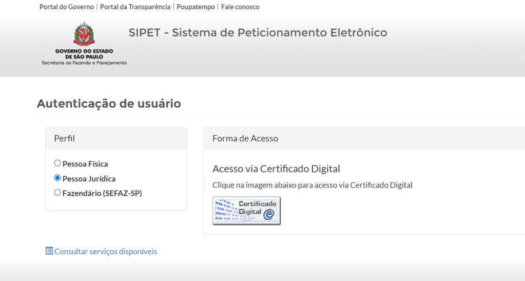 Portal SIPET