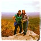 hiking with Deni