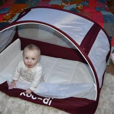 Koo-di Pop-Up travel bubble cot REVIEW