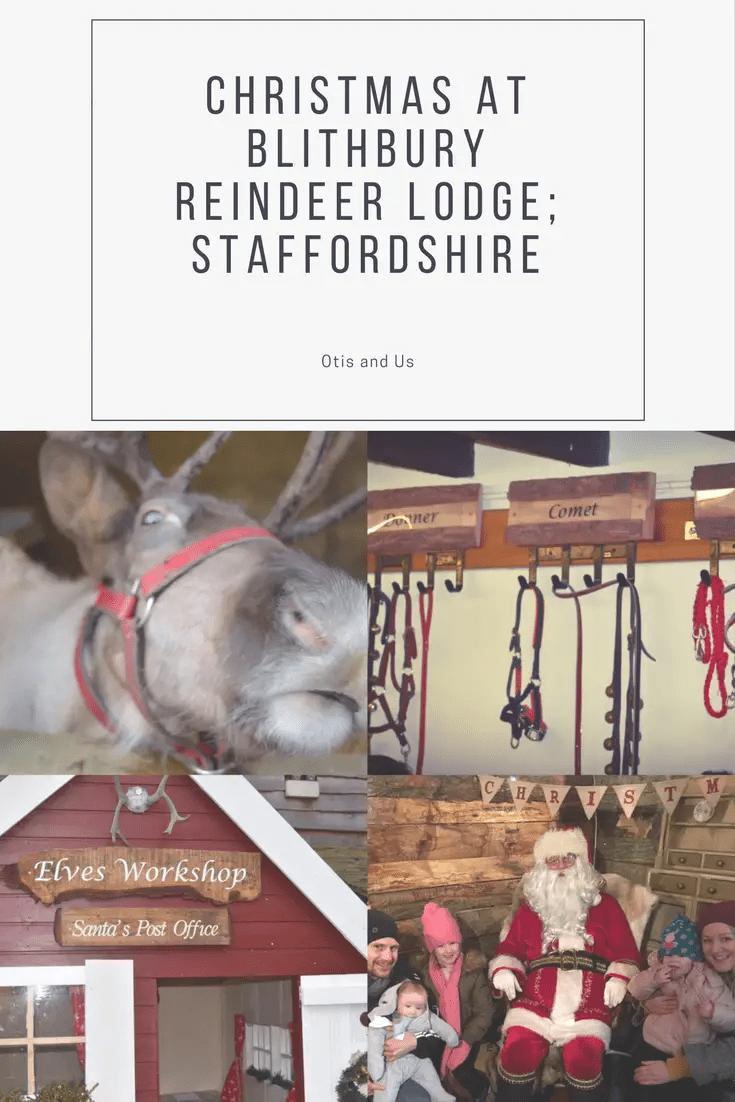 Christmas at Blithbury Reindeer Lodge; Staffordshire