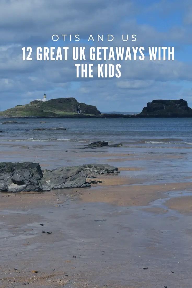 Find 12 UK great getaways with the kids. #UKtravel #inspiration #familytravel