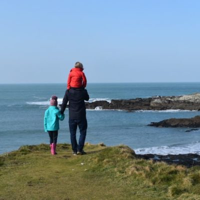 Beach days and rockpooling in Cornwall: with Mountain Warehouse