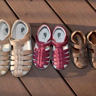 Spring sunshine and Bobux sandals