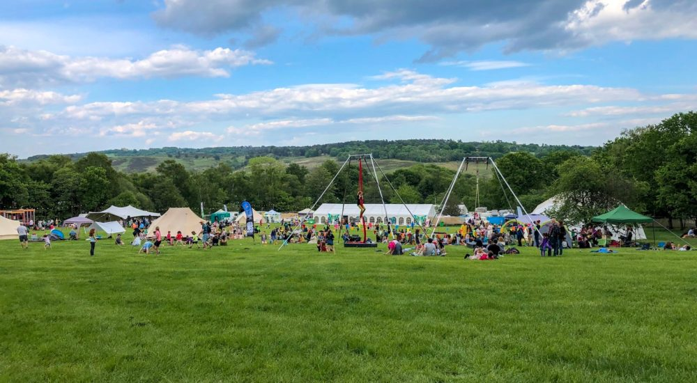 The family friendly Elderflower Fields Festival : Review